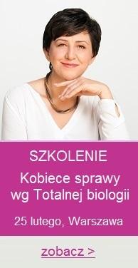 szkolenie totalna biologia kobiece sprawy