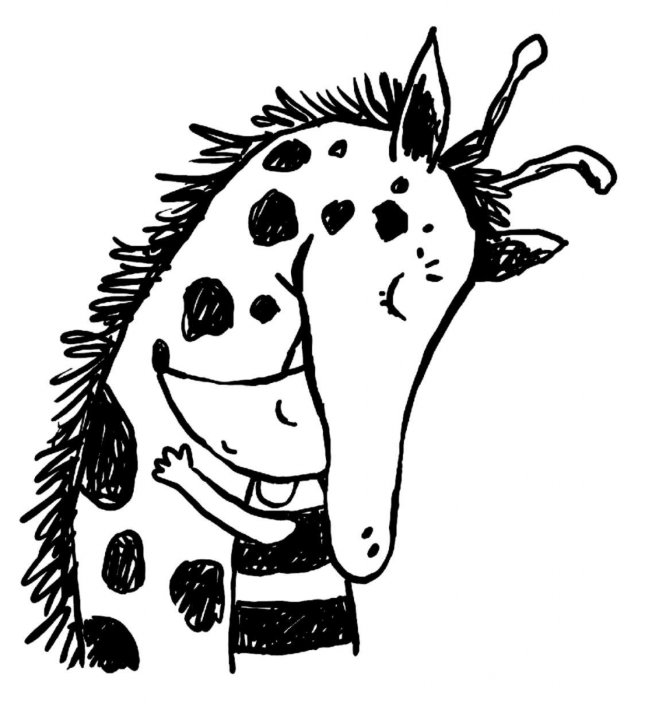 zenon i żyrafa bajki o empatii